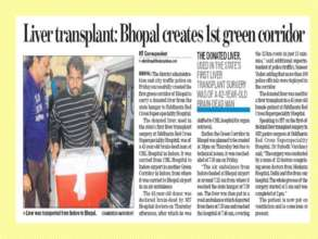More hope through Bhopal