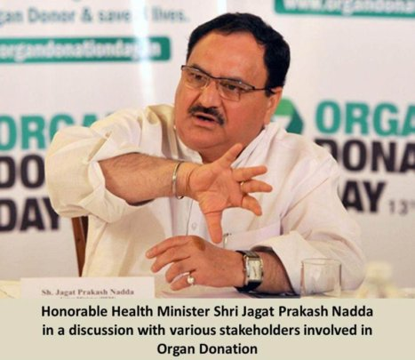 Health Minister interacting with stakeholders