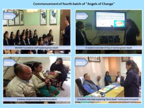 "Commencement of fourth batch of ""Angels of Change"""