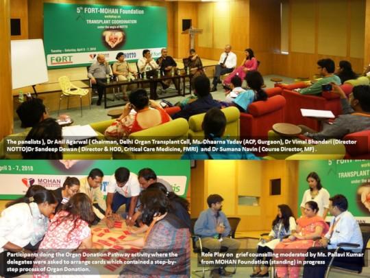 5th MF-FORT training for transplant coordinator