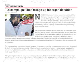 Times of India campaign in its 4th year (PDF)