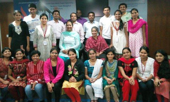 The exultant group of participants