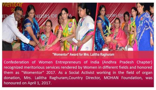 Womentor Award for Country Director