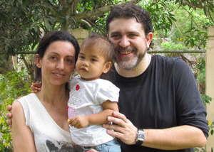 PJ and adoptive parents