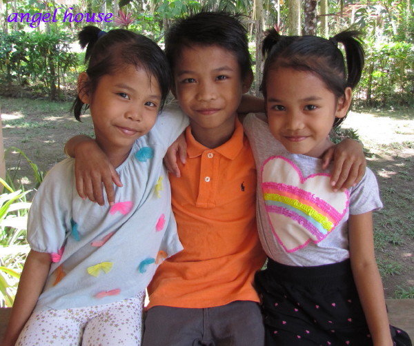 These three siblings are our elementary students.
