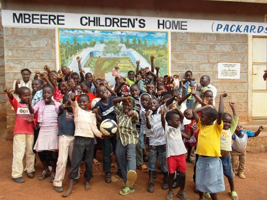 Henry and Children at Mbeere Children's Home