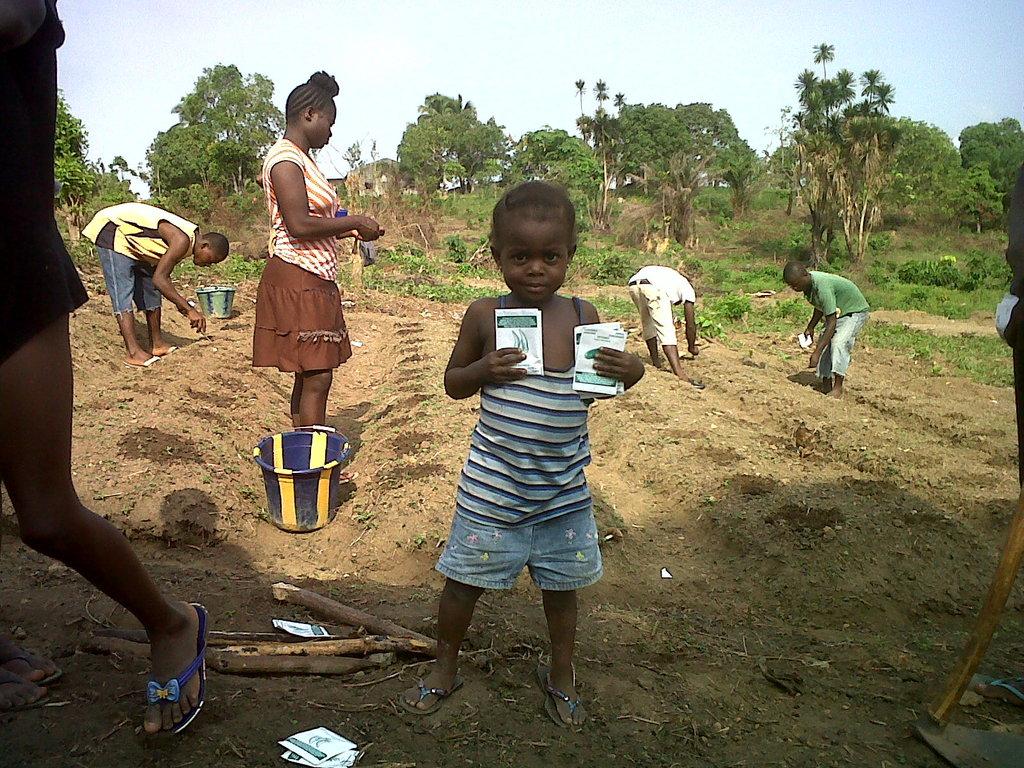 After Ebola, Gardens Help Rebuild Lives