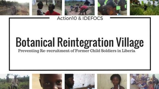 Support Traumatized Child Soldiers in Liberia!