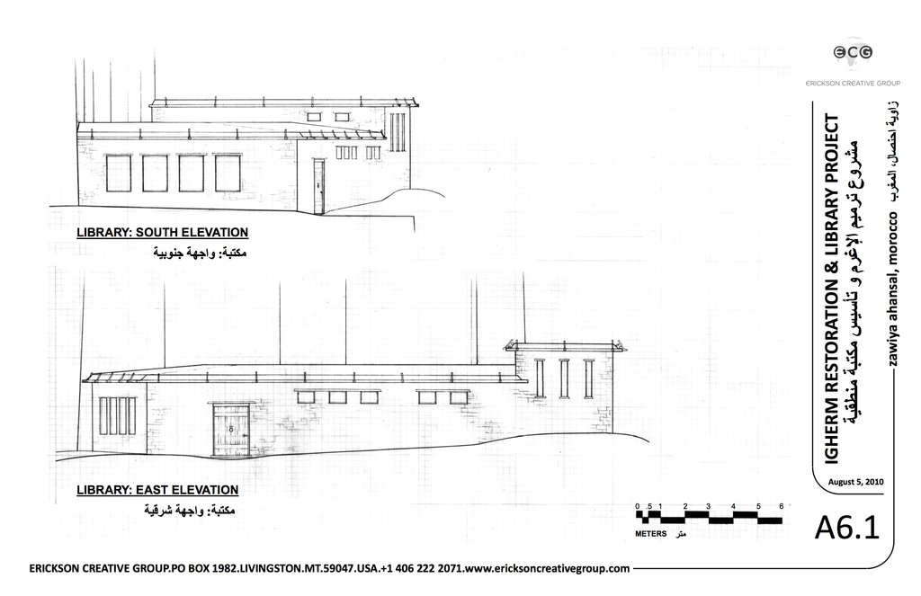 Library Elevations