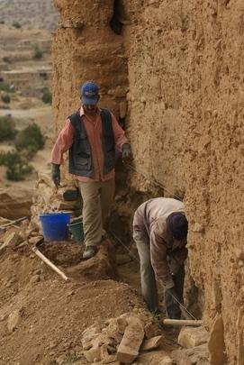 Foundation restoration.