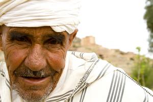 Moqaddam, the village's tribal representative.