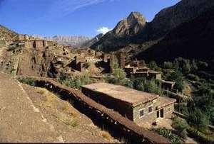 Zawiya Ahansal region of Morocco.