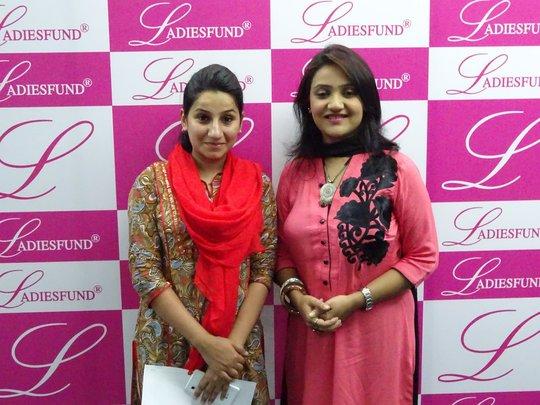 Jaweria Ali (on right) with Girl #316 Marwah Malik