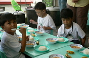 Pinagpala Children Center Feeding Program
