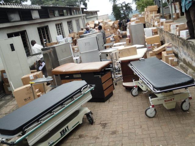 Life Saving Medical Equipment in Marakwet, Kenya
