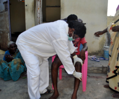 Deformed Leper & poor disable youth therapy Centre