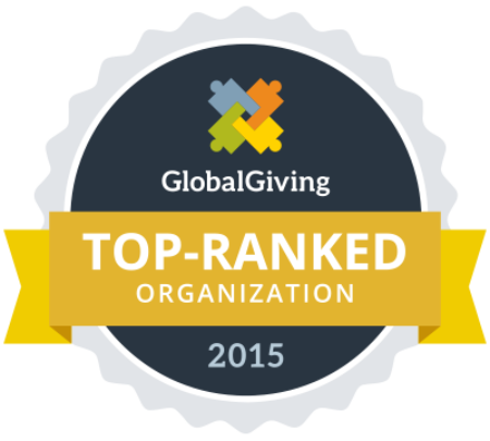 Top ranked NGO in globalgiving-2015