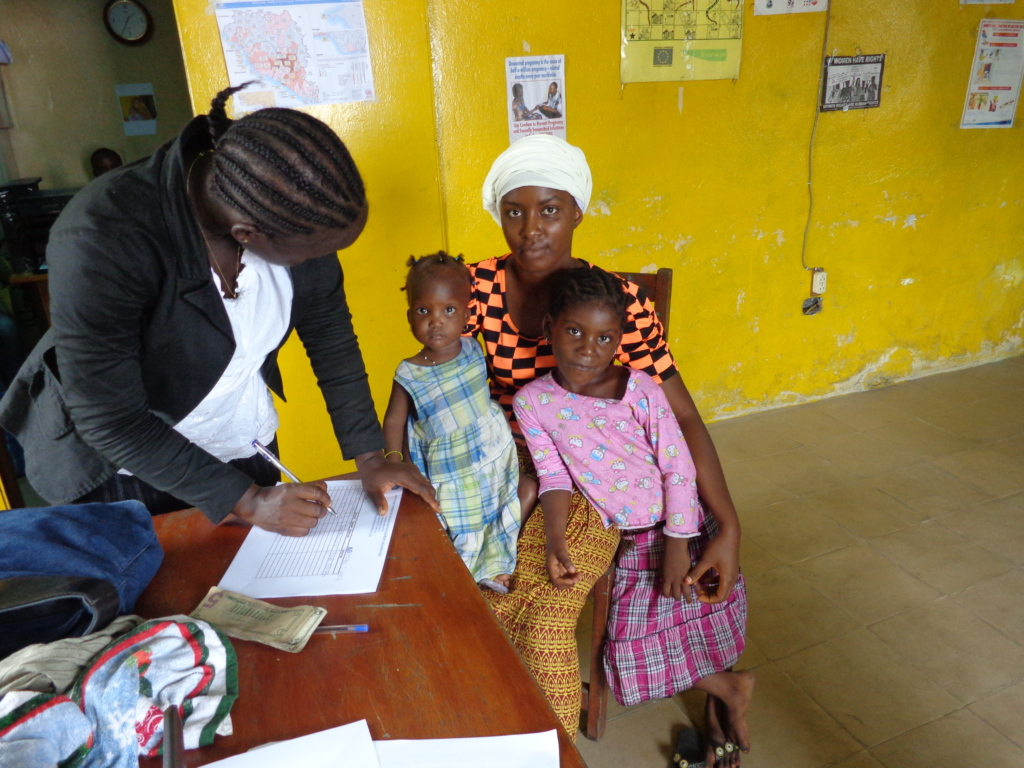 Beneficiary who lost husband & son receives help