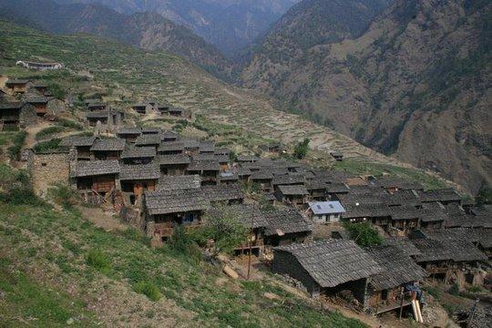 Tamang Village, Rasuwa District of Nepal