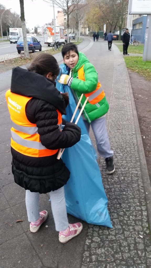 Clean Up Event in Berlin