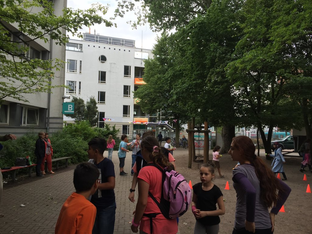 Primary school in St. Pauli, Hamburg