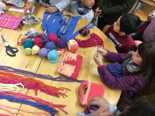 Upcycling Workshop at the Autumn Holiday Camp