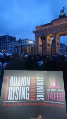 RespAct at ONE BILLION RISING in Berlin