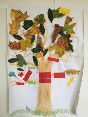 Intercultural Tree at the Alfred-Nobel-Schule
