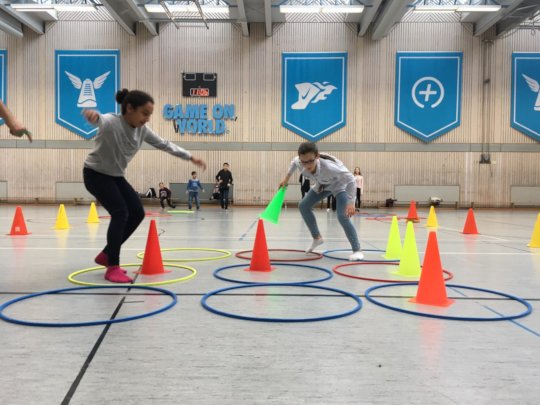 Sports and Fun at the Autumn Holiday Camp