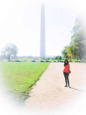 During the Historic Monuments Tour in D.C.