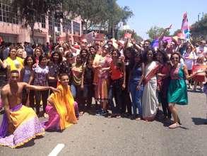 Kranti at Pride Parade in San Francisco