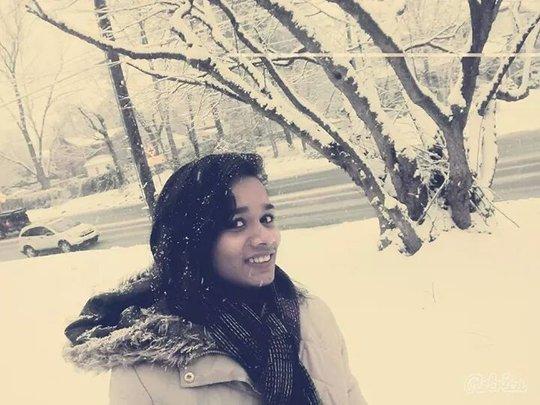 Snow...brrr!