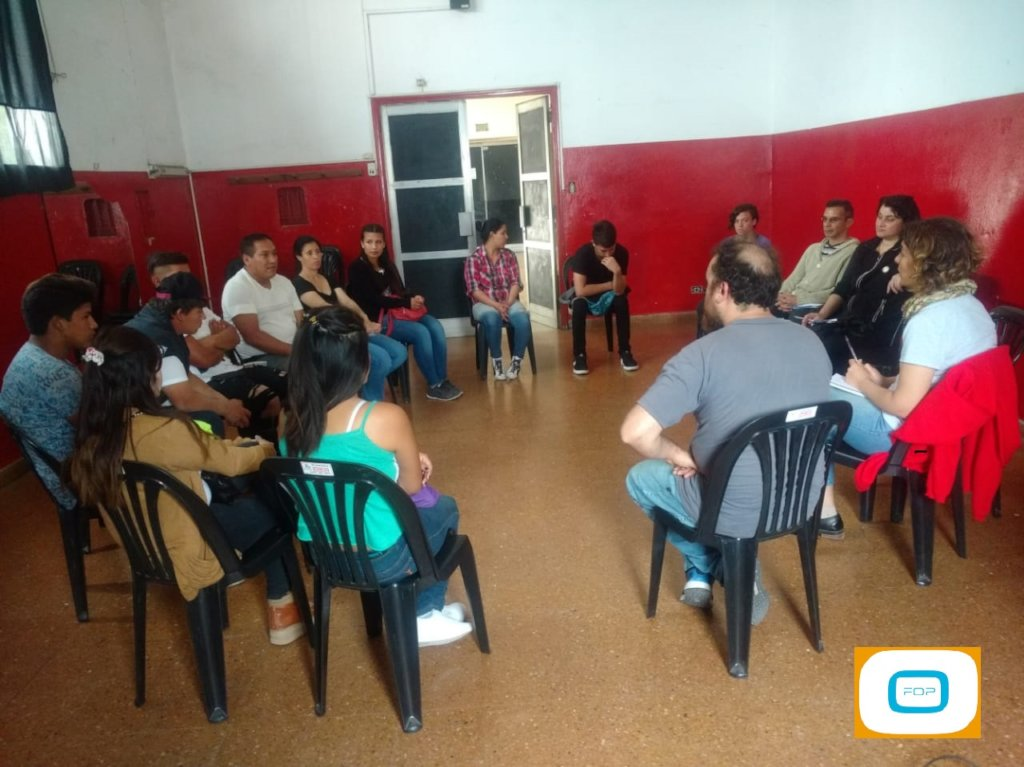 workshops carried out in burzado in Octuber