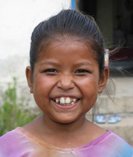 A girl NYOF rescued from a childhood of servitude