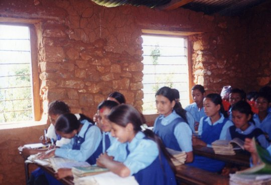 Students in Rural Classroom
