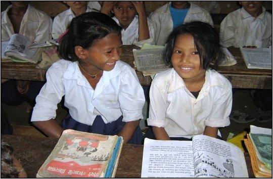 Village scholarship girls