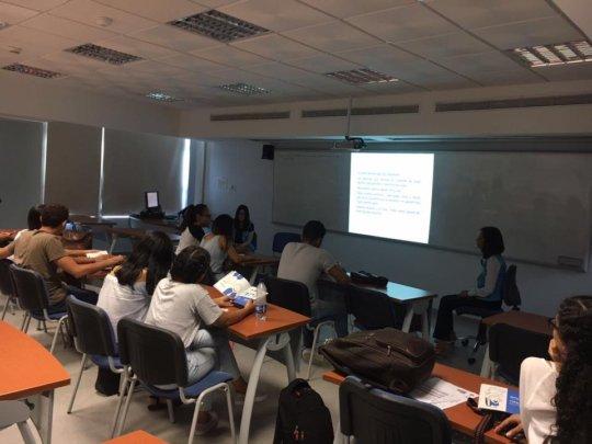 University information session