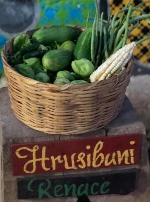 First Harvest with Zapotec word for rebirth