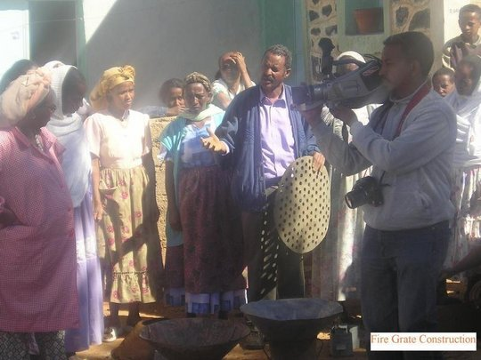 Bring efficient, smokeless stoves to rural Eritrea