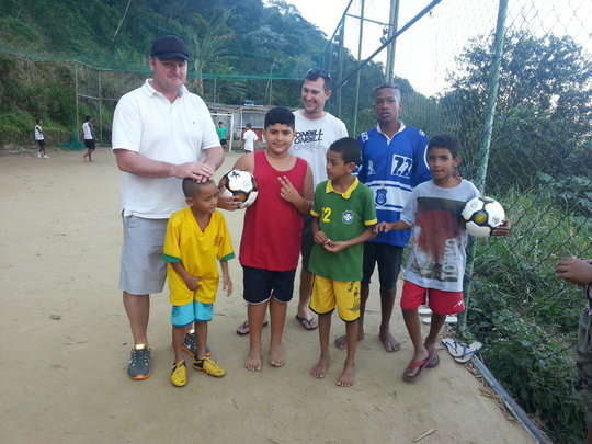Ball, shoes and shirts shared across the world
