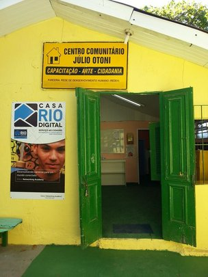 Centro Julio Otoni hosts Project Casa Rio Digital