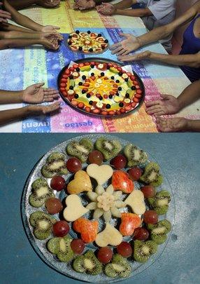 cosmic fruit mandala