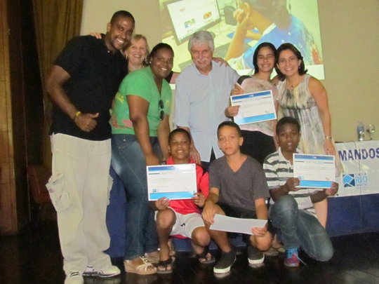 Graduation of the first group on Digital Inclusion