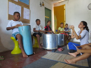 Voice and Percussion Class