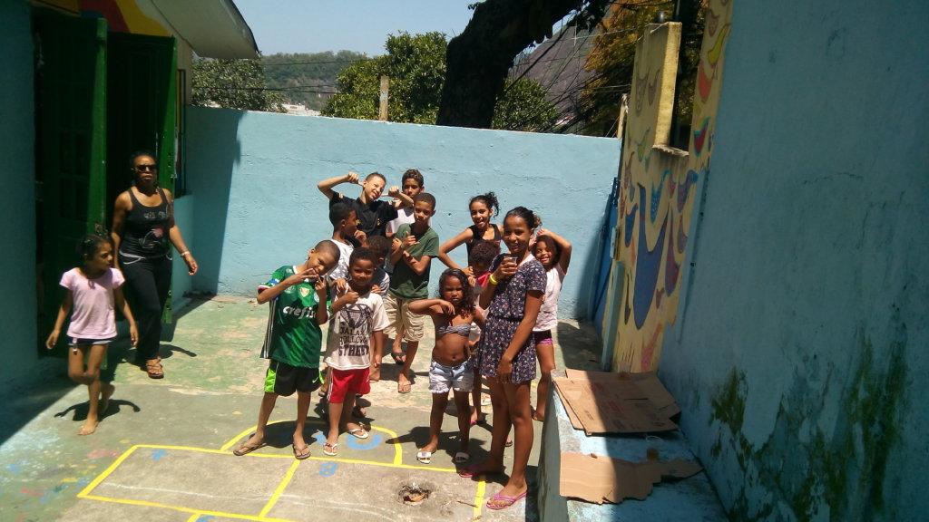 Children and the Green Corner
