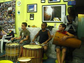 Enjoyng the Rythms with Drums