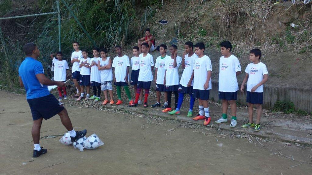 Training footbal