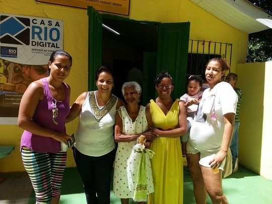 Several Generations of Residents of the Community