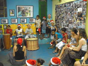 Performance at Christmas Party