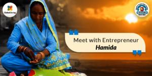 Meet with Entrepreneur Hamida......